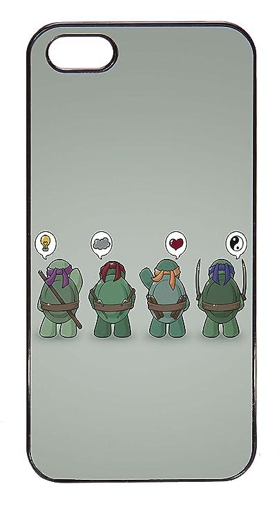 Carcasa para iPhone 5/5S - Dibujo Tortugas Ninjas Ying Yang ...