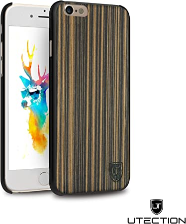 UTECTION cover iPhone 6 / 6s legno ultra-thin wood hard case