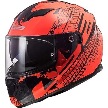 Ls2 Helmets Stream Evo Lava Fluo Matt Orange Black