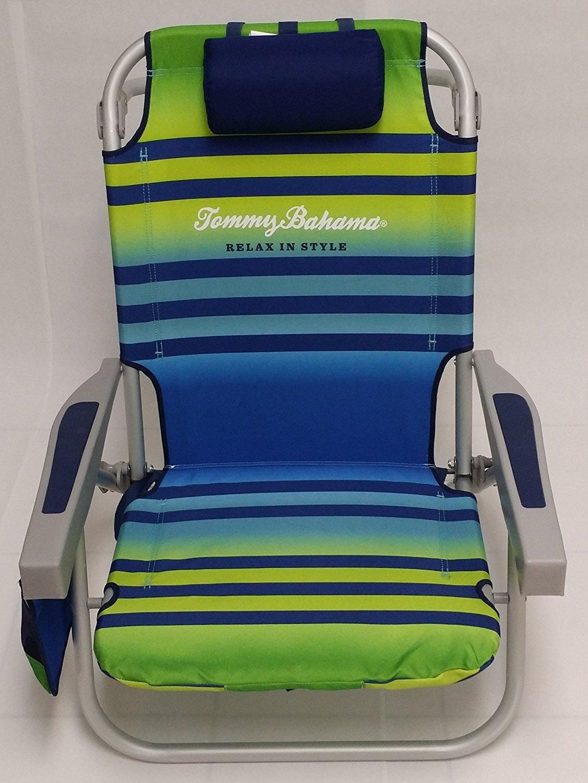 Tommy Bahama Backpack Beach Chair Green