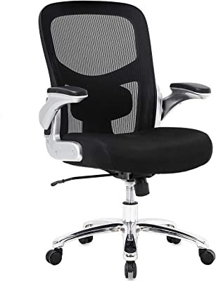 Big and Tall Office Chair Mesh Computer Chair from BestOffice