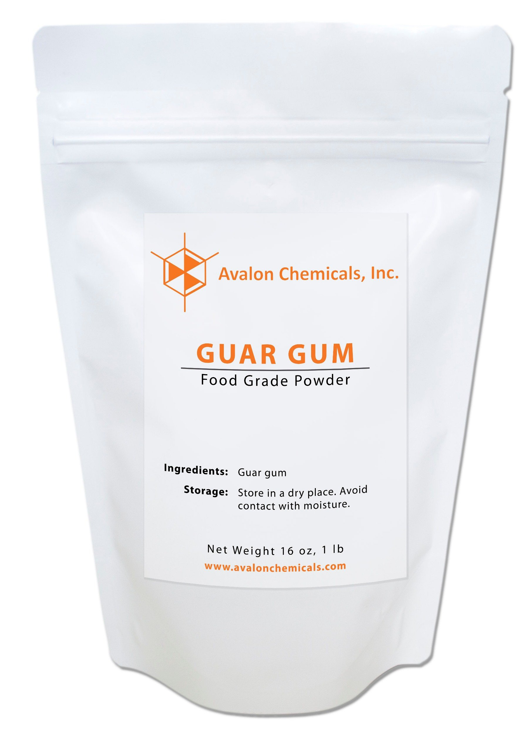 Guar Gum Food Grade Powder - 16 oz