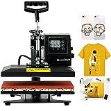 Nurxiovo 12x10 Heat Press Machine for T Shirts, 360 Degree Swing Away Heat Transfer Machine, Hot Pressing Vinyl Digital Subli