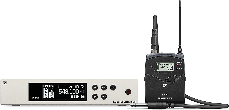Sennheiser Pro Audio Sennheiser EW 100-CI1 Instrument Wireless System - G Band (566-608Mhz), 100 G4-CI1-G: Musical Instruments