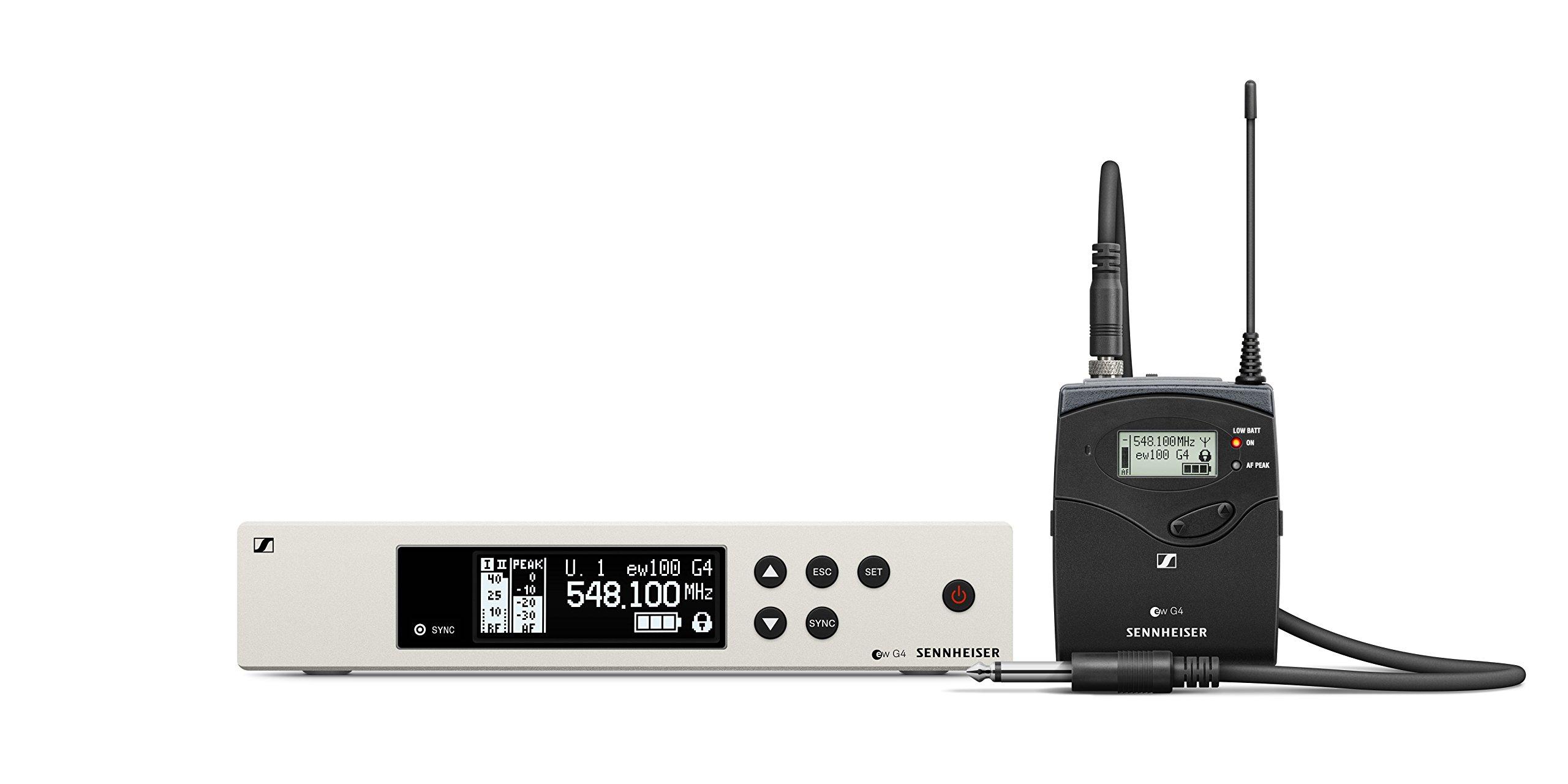 Sennheiser Pro Audio Sennheiser EW 100-CI1 Instrument Wireless System-A Band (516-558Mhz), 100 G4-CI1-A by Sennheiser Pro Audio