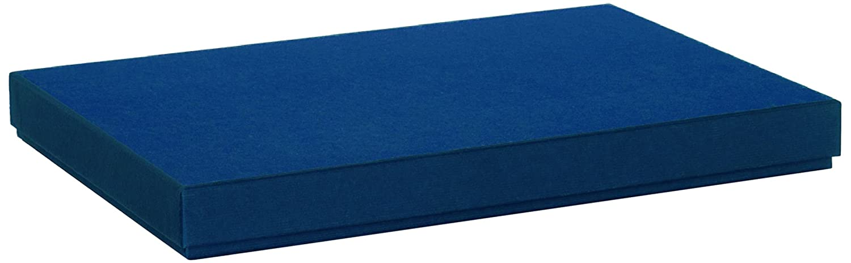 R/össler Papier Boxle 1352453900 colore navy Scatola per documenti formato A4