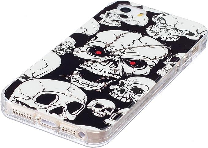 ikasus Cover iPhone 5CCustodia iPhone 5C Modello Dipinto Arte