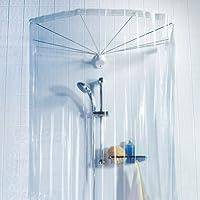 Spirella Ombrella 8 bras, Rideau de douche ronde