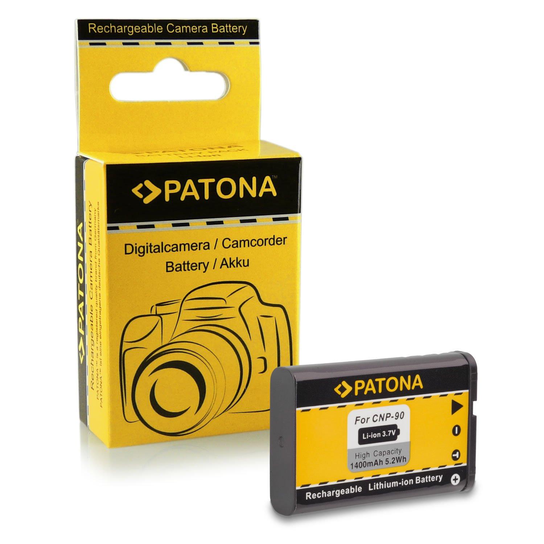 Batteria NP-40 per Casio Exilim High Speed EX-FC100 - Exilim Pro EX-P505 / EX-P600 / EX-P700 - Exilim Zoom EX-Z30 / EX-Z40 / EX-Z50 / EX-Z55 / EX-Z57 / EX-Z100 / EX-Z200 / EX-Z300 / EX-Z400 / EX-Z450 / EX-Z500 / EX-Z600 / EX-Z700 / EX-Z750 / EX-Z850 / EX-Z