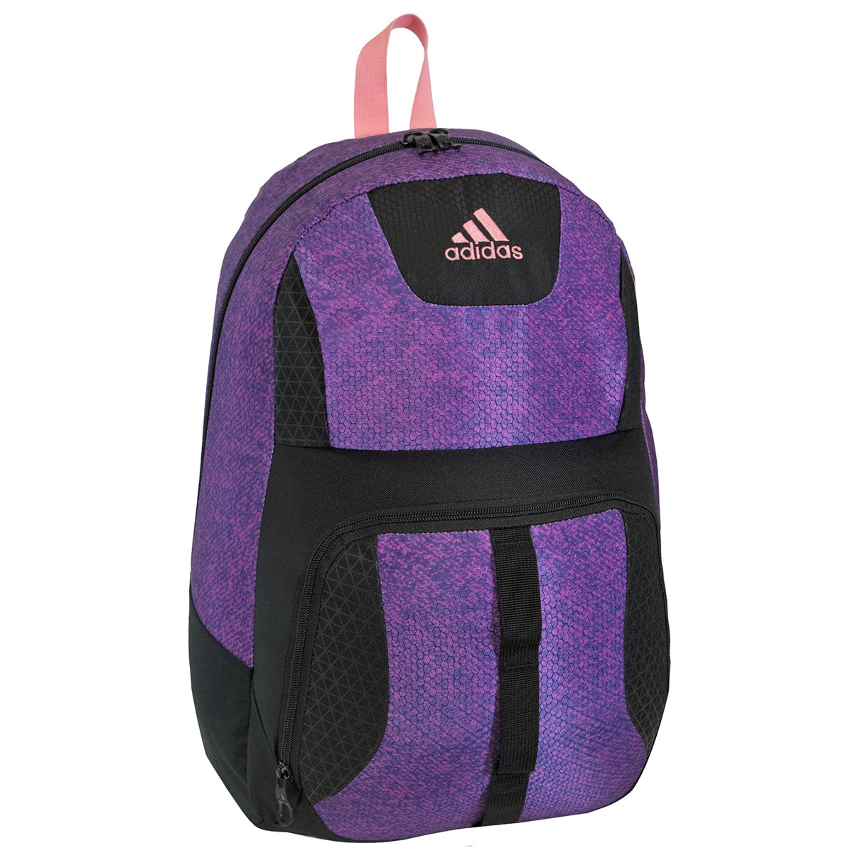 purple adidas backpack
