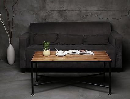 Amazon.com: VILAVITA X-Design Rectangular Coffee Table 40