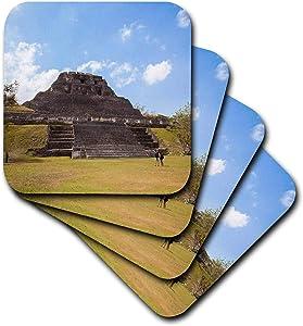 3dRose Danita Delimont - Belize - Xunantunich Mayan ruins in Belize. - Coasters (cst_345643_2)