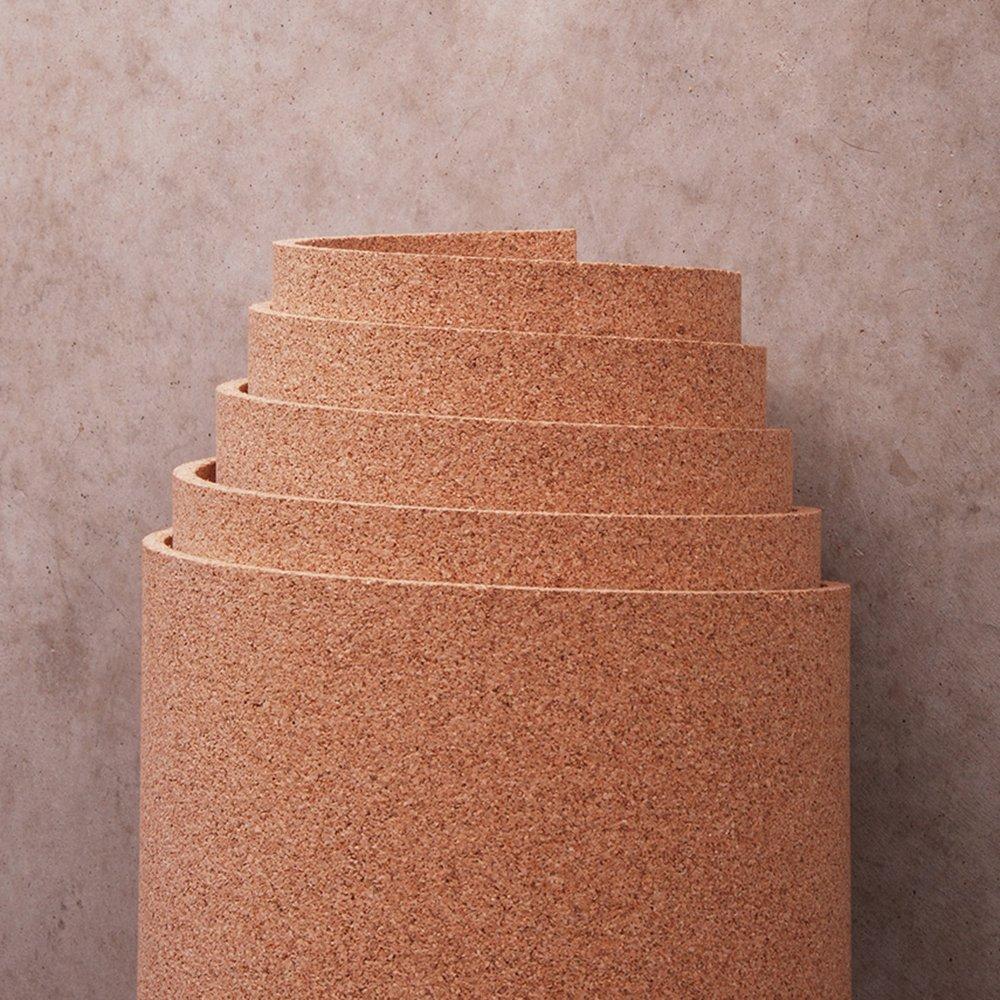 Natural Cork Roll 4' x 12' x 3/8'' by Manton Cork