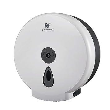 Anyer Dispensador de Toallas de Papel, fácil de Instalar en la Pared de Acero Tejido Soporte para Tejido para baño de Cocina o encimera,f: Amazon.es: Hogar