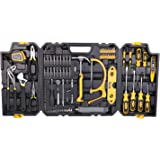 Tool Set, TECCPO 97PCS General Household Hand Tool Kits for Home Maintenance with Wrenches,