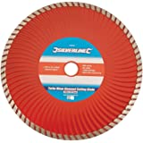 Silverline 633588 Turbo Wave Diamond Cutting Blade - 230 x 22.2 mm