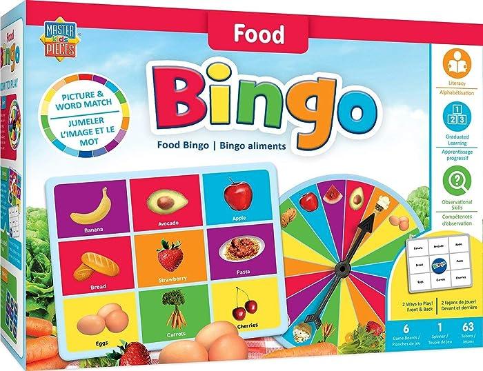 Top 10 Bingo Board Game Food Groups
