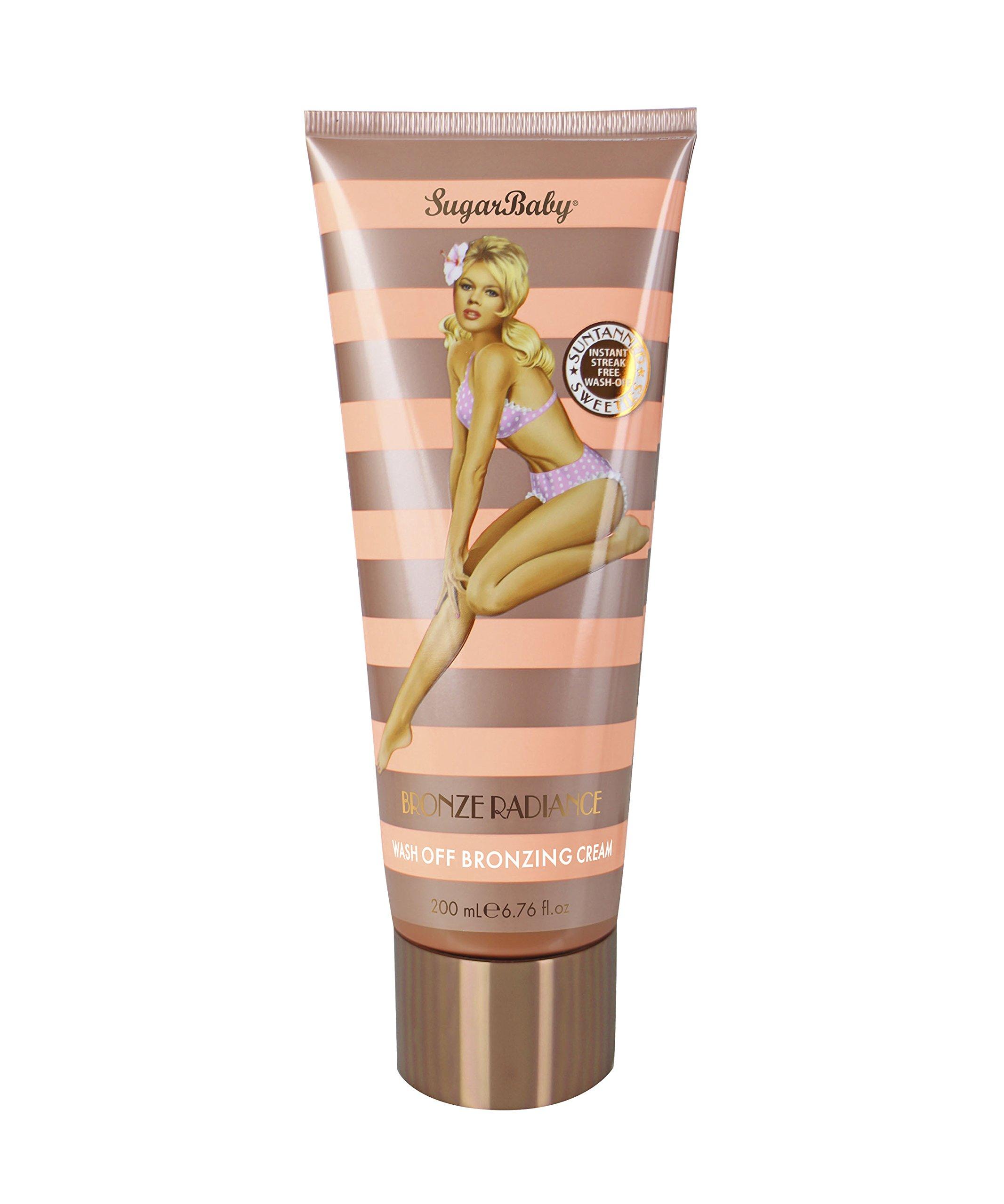 SugarBaby Radiance Wash Off Bronzing Moisturizer Cream, Bronze by SugarBaby