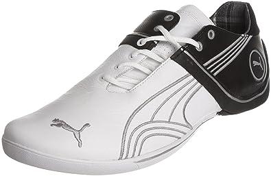 363519ba5a2f85 Puma Men s Future Cat Remix L White Silver-Black Trainer 30333004 7.5 UK