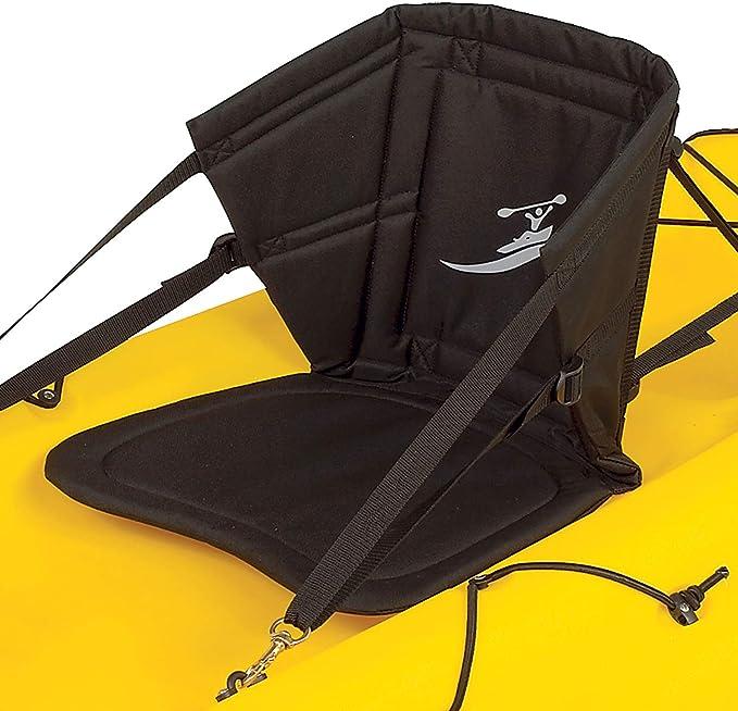 Kayak Seat Adjustable Padded Canoe Back Rest Back Support Cushion Fishing Boat *