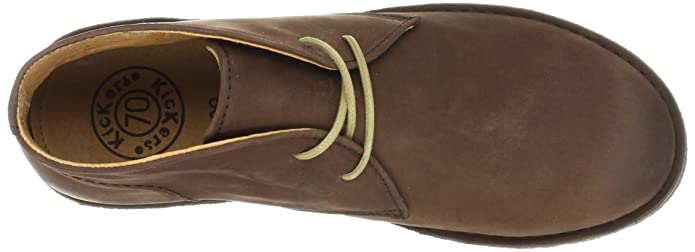 Amazon.com | Kickers Womens Crepy1, Dark Brown Leather, EU 42 M | Mid-Calf