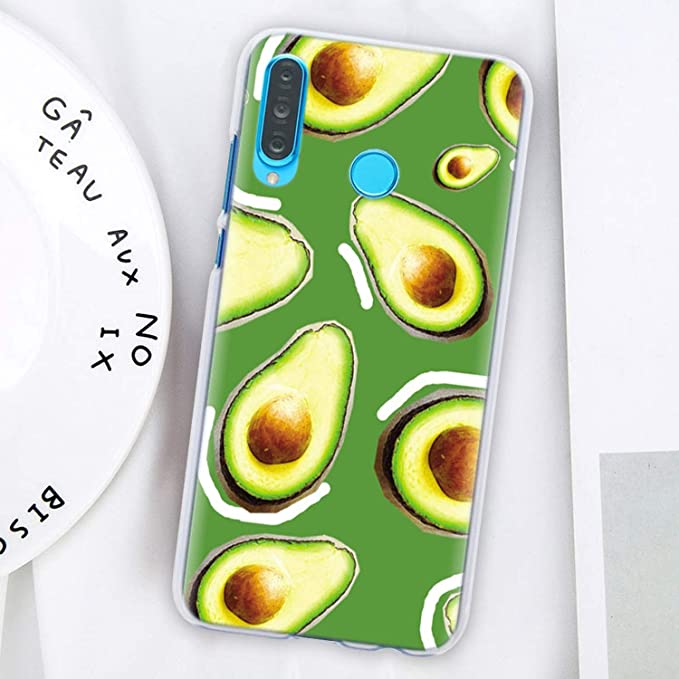 Amazon.com: Avocado Fruit Art - Carcasa rígida para Huawei ...