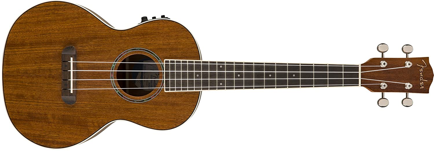Fender Venice Soprano Ukulele - Cherry with Tuner, Gig Bag, and 3 Months of Fender Play