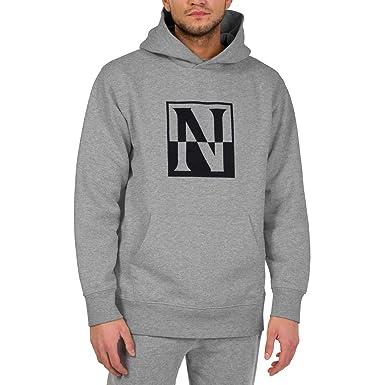 31a39955aa5 Napapijri - Sweat-Shirt à Capuche - Homme Gris Gris Taille Unique ...