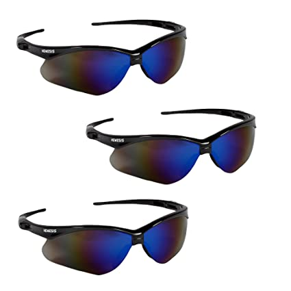 831ae75584a Image Unavailable. Image not available for. Color  Jackson Safety V30 14481  Nemesis Safety Glasses ...
