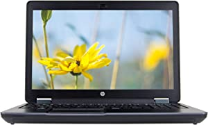 HP ZBook 15 G2 15 Inch Mobile Workstation, Intel Core Quad i7-4710MQ Upto 3.5GHz, 16G DDR3L, 256G SSD, WiFi, VGA, DP, Windows 10 Pro 64 Bit Multi-Language Support English/French/Spanish(Renewed)