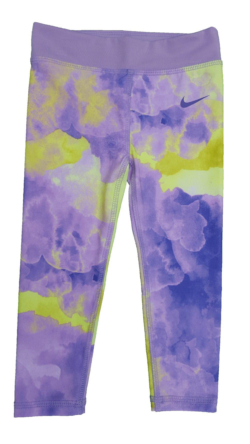 Nike Dri-fit Essentials Capris - Girls' Preschool (2T, Hydrangeas)