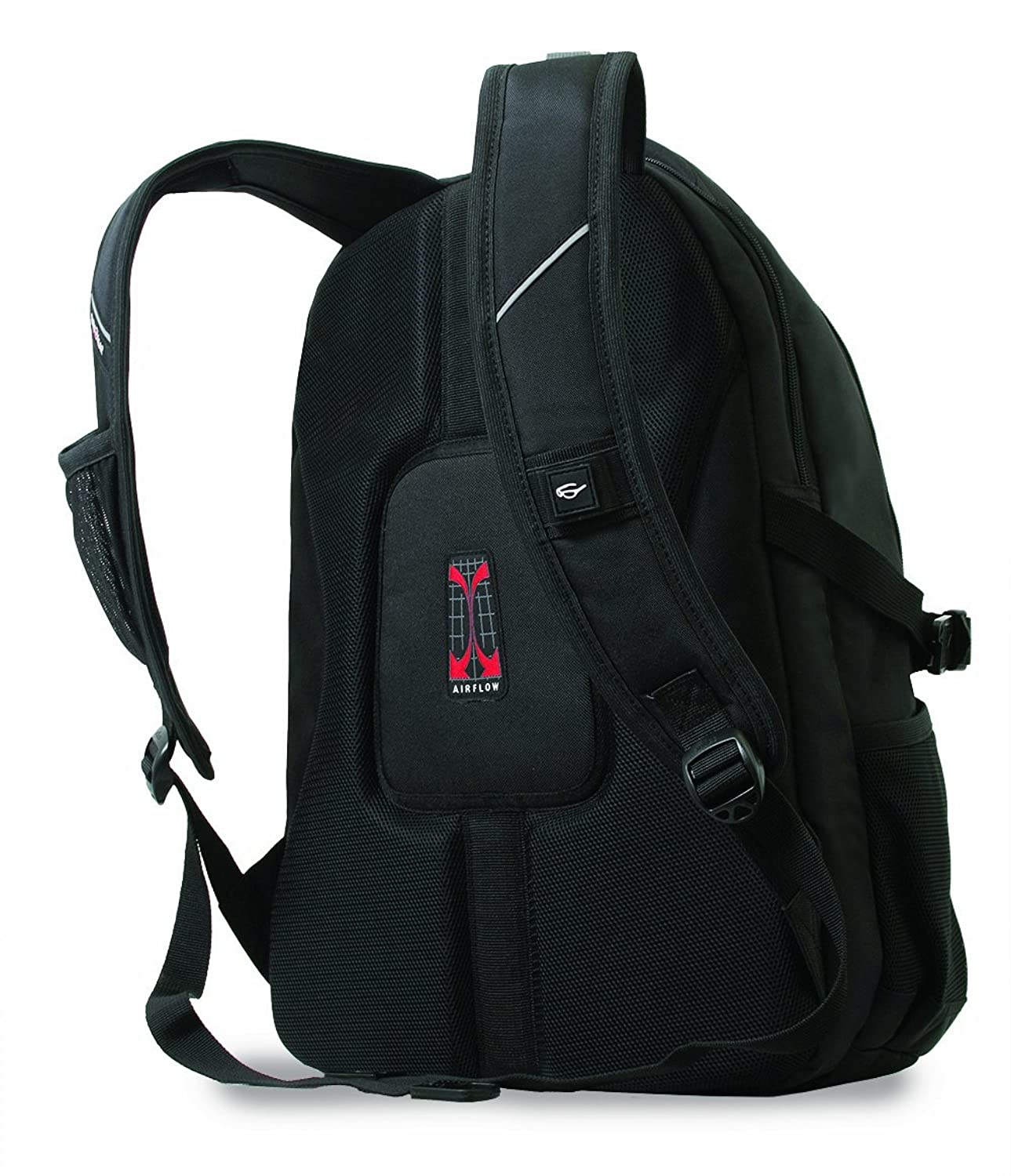 Amazon.com: SwissGear SA3118 Black with Blue Computer Backpack ...