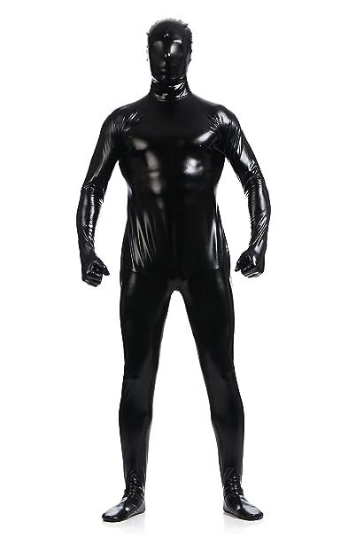 Amazon.com: ainclu Unisex metálico Lycra skin-tight Full ...