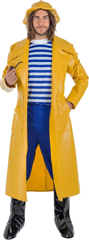 Banyant Toys Disfraz Capitan Pescador M-L: Amazon.es: Juguetes y ...
