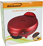 Brentwood TS-120 Quesadilla Maker, Red