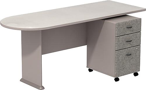 Editors' Choice: Bush Business Furniture Series A Peninsula Desk