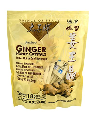 Prince Of Peace Ginger Honey Crystals 30 Ct