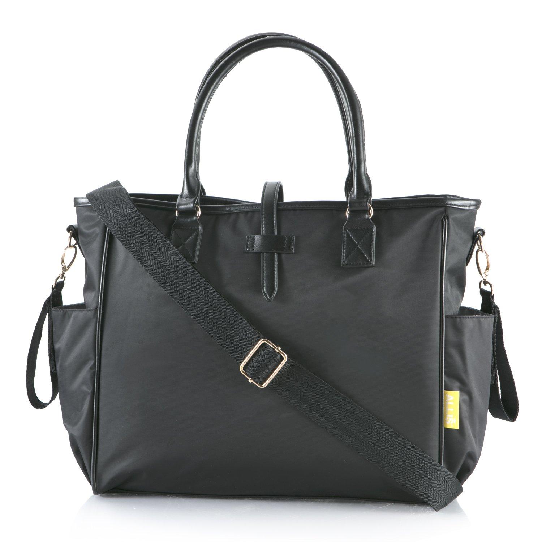 Allis Baby Changing Bag Kelly Nappy Bag - Black 1135-P