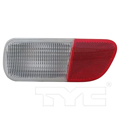 TYC 17-5253-00-1 Compatible with Chrysler PT Cruiser Right Replacement Reflex Reflector: Automotive