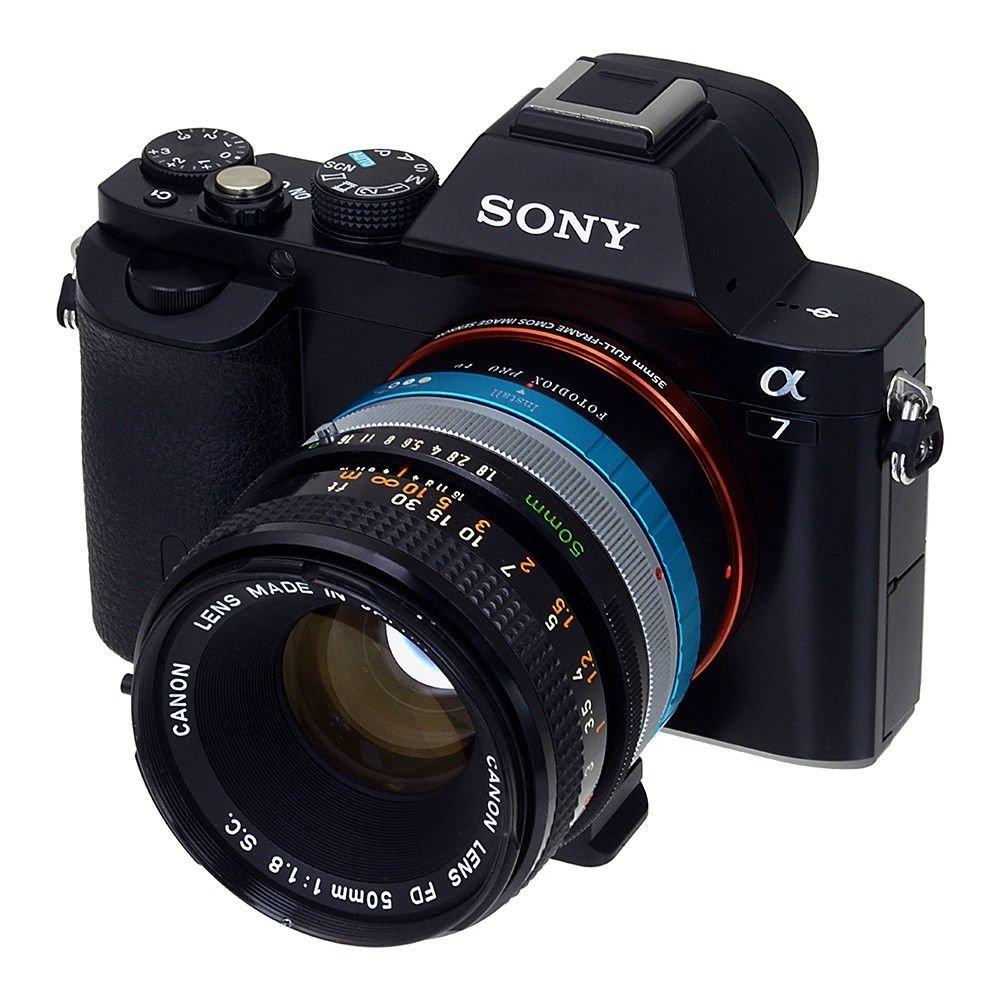 Fotodiox Pro Lens Mount Adapter, Canon FD Mount Lenses: Amazon.de ...
