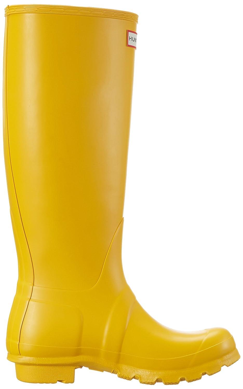 Wellington Boots, Bottes Classiques Femme, Jaune (Yellow/Ryl), 36 EUHunter
