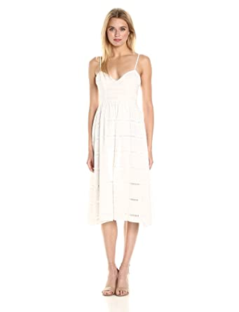 bcbaed752d Amazon.com  Cynthia Rowley Women s Eyelet Lace Dress  Clothing