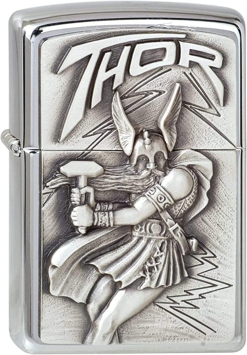Zippo Free shipping on posting reviews #200 Ranking integrated 1st place Viking Emblem Thor