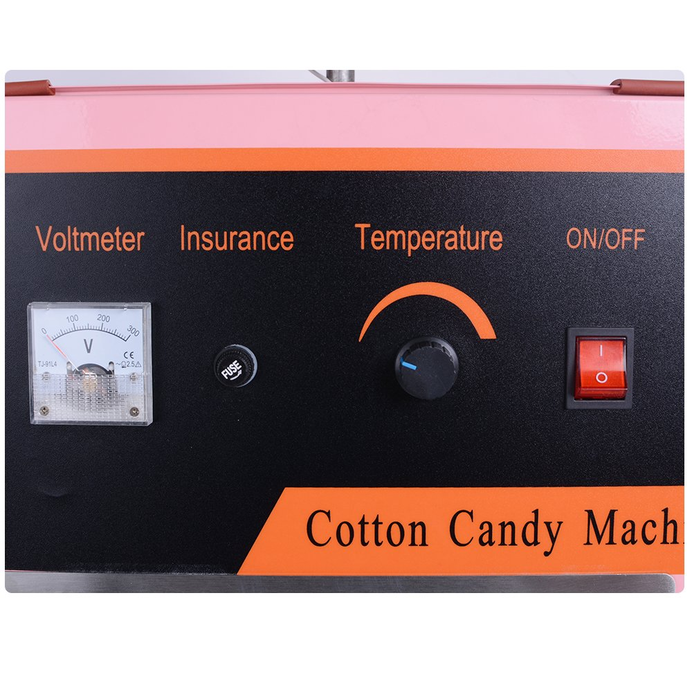 Ovovo Commercial Cotton Candy Machine Electric Cotton Candy Maker for Kids Carnival Party by Ovovo (Image #4)