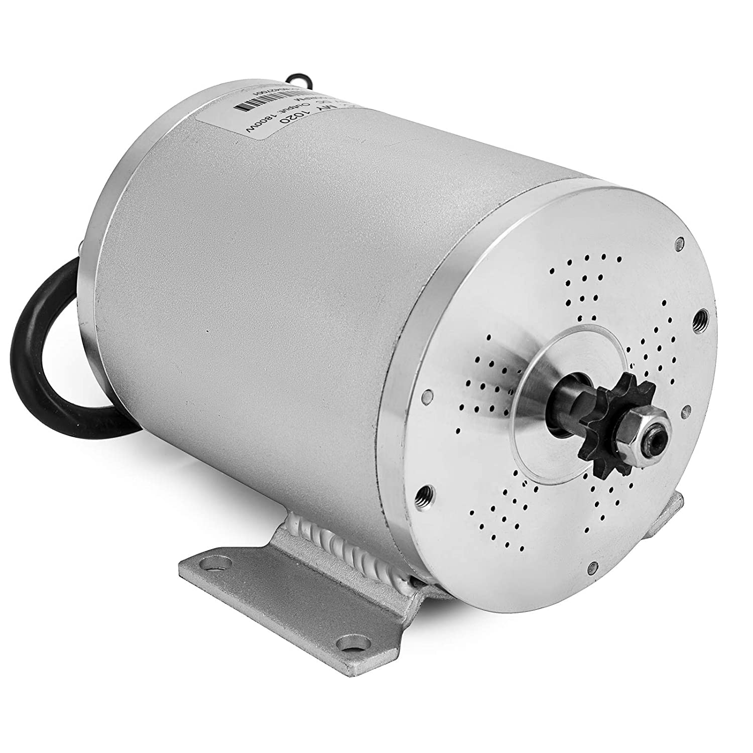 Mophorn 1800w Electric Brushless Dc Motor Kit 48v High Power Wiring In Addition Car Conversion Kits Speed With 32a Controller And Throttle Grip For Go Karts E Bike