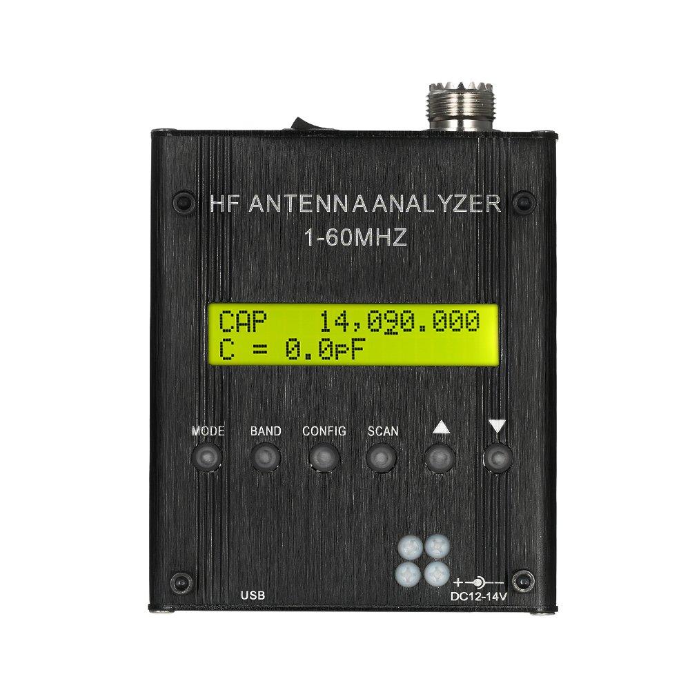 Kkmoon Mr300 Shortwave Antenna Analyzer Meter Tester 1 Basic Tachometer Circuit Using An Ir Led Receiver Couple To 60mhz Rf Swr For Ham Radio Electronics