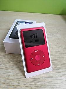 Original Appleipod Compatible for mp3 mp4 Player Apple iPod red U2 1TB (1000 Gigabyte) Classic 7th Gen