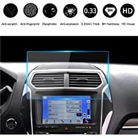 9H Ford Tempered Glass Screen Protector 8 Inch, HeyMoly Car Navigation Clear Touch Display Film Protector, 2013-2019 F-150 F250 F350 F450 Sync2 Sync3 Escape Expedition Everest EcoSport Fusion Focus RS