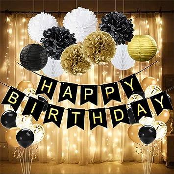 Amazon.com: Wcaro - Decoración para cumpleaños, diseño de ...