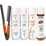 Brazilian Keratin Blowout Hair Treatment 4 Bottles 300ml Value Kit Sulfate Free